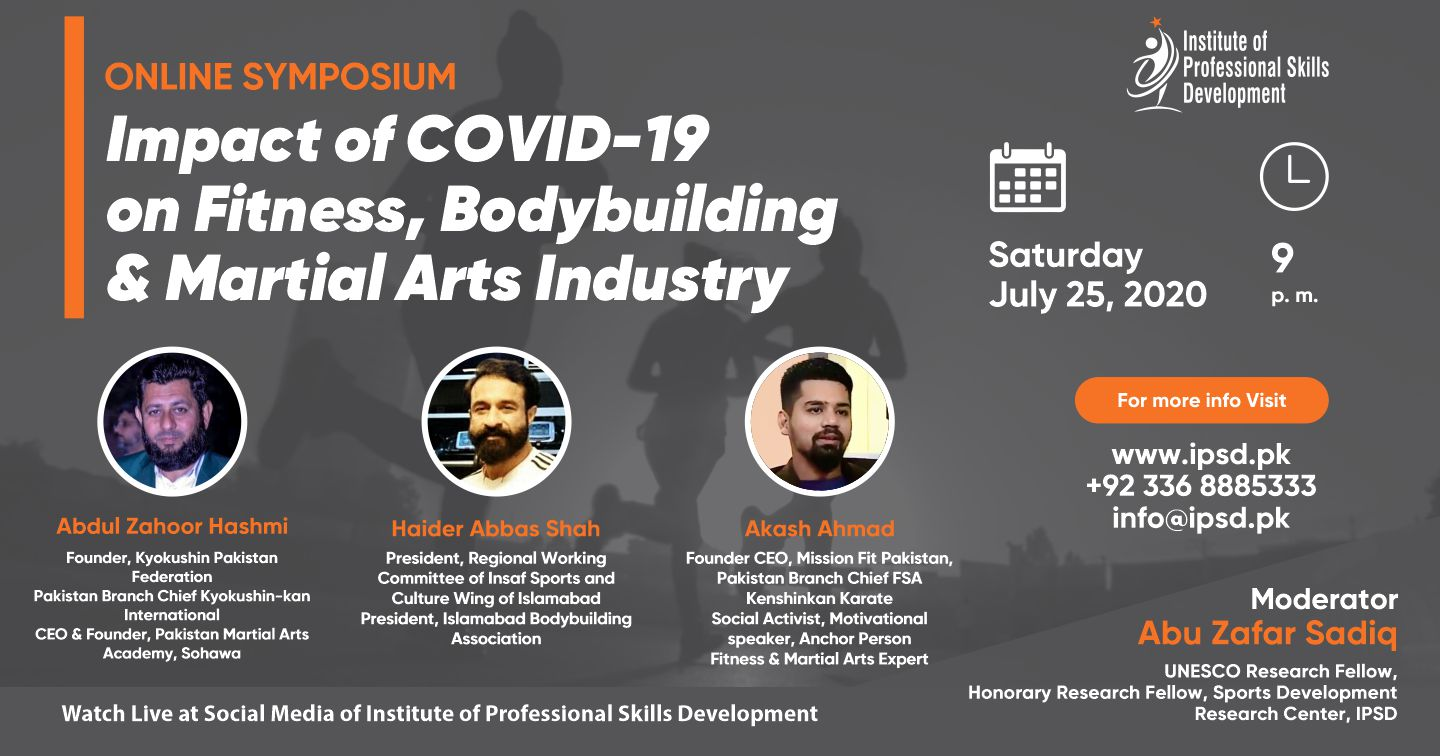 Impact of Covid-19 on Fitness, Bodybuilding and Martial Arts Industry