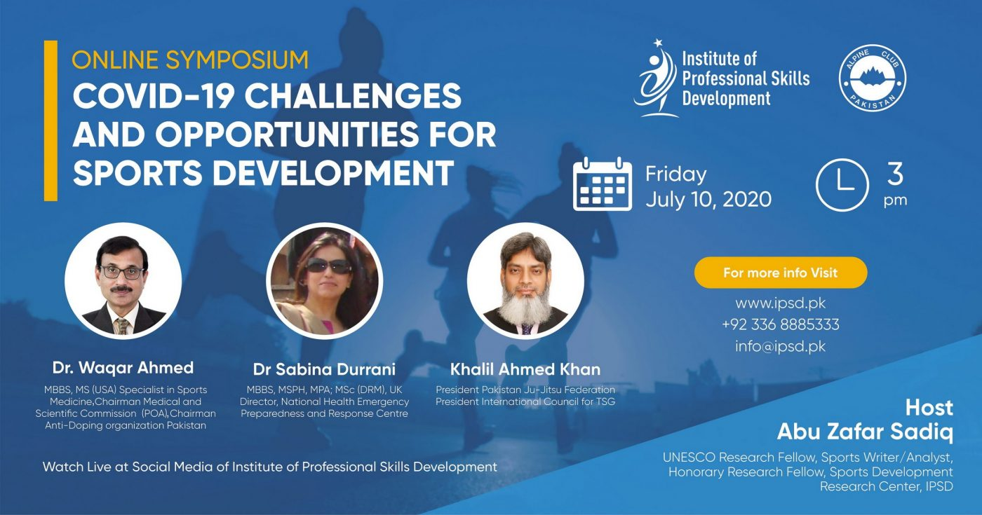 Online Symposium on COVID-19: Challenges and Opportunities for Sports Development