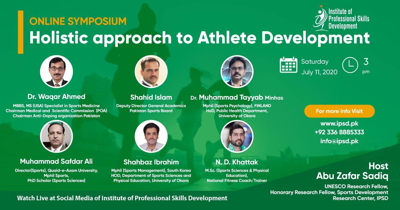 Online Symposium on Holistic approach to Athlete Development